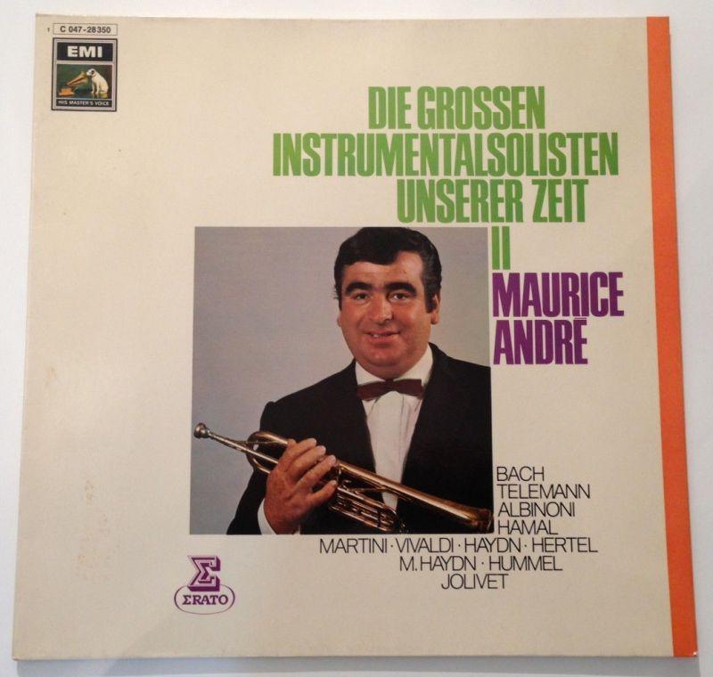 Maurice Andre Instrumentalsolist Trompete EMI  11644
