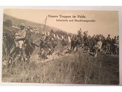 Unsere Truppen im Felde Infanterie und Maschinengewehr 14366