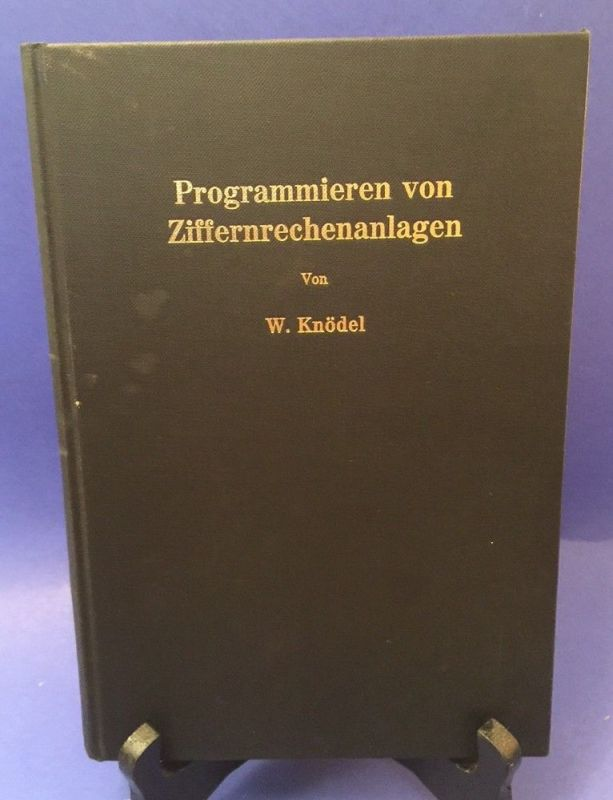 Programmieren von Ziffernrechenalagen Knödel, W.: