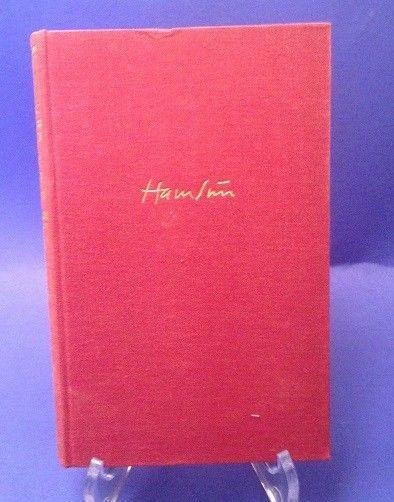 Das letzte Kapitel Hamsun, Knut:
