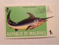Malediven Maledives Fisch postfrisch A26b