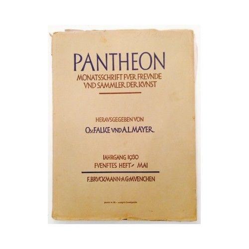 Pantheon : internationale Jahreszeitschrift für Kunst [Zeitschrift. Monats 10059