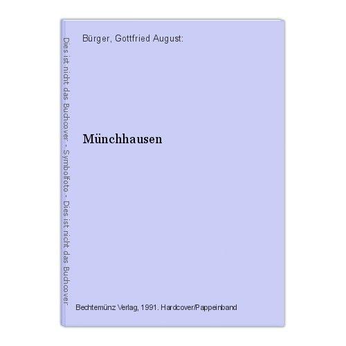 Münchhausen Bürger, Gottfried August: