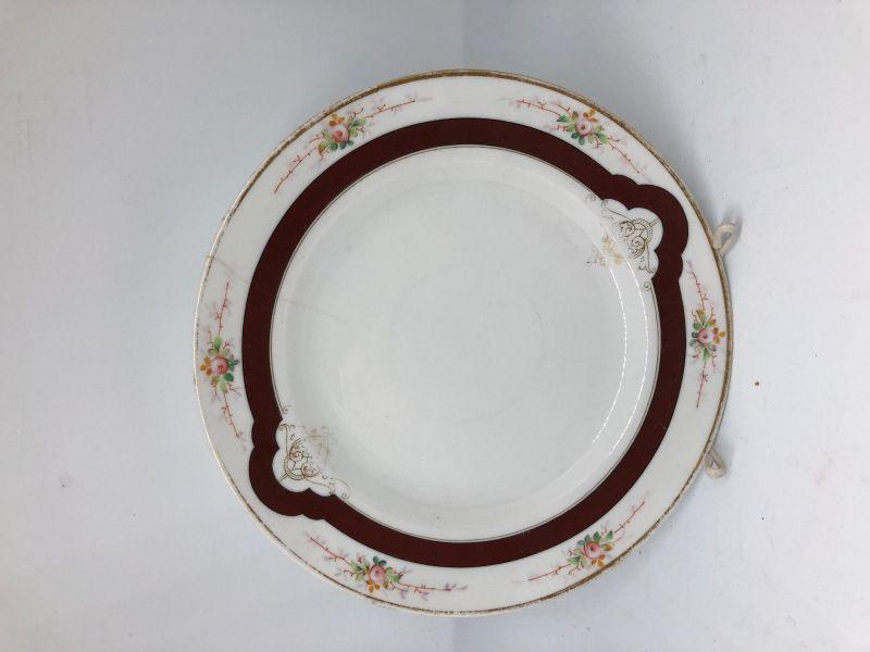 Biedermeier Dessertteller  20 cm 19856