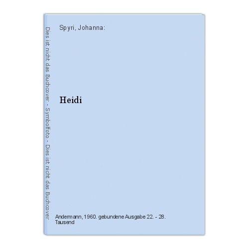 Heidi Spyri, Johanna: