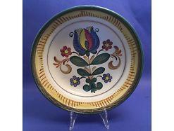 Wandteller Keramik Austria Blumen ca. 28 x 28 cm  14473