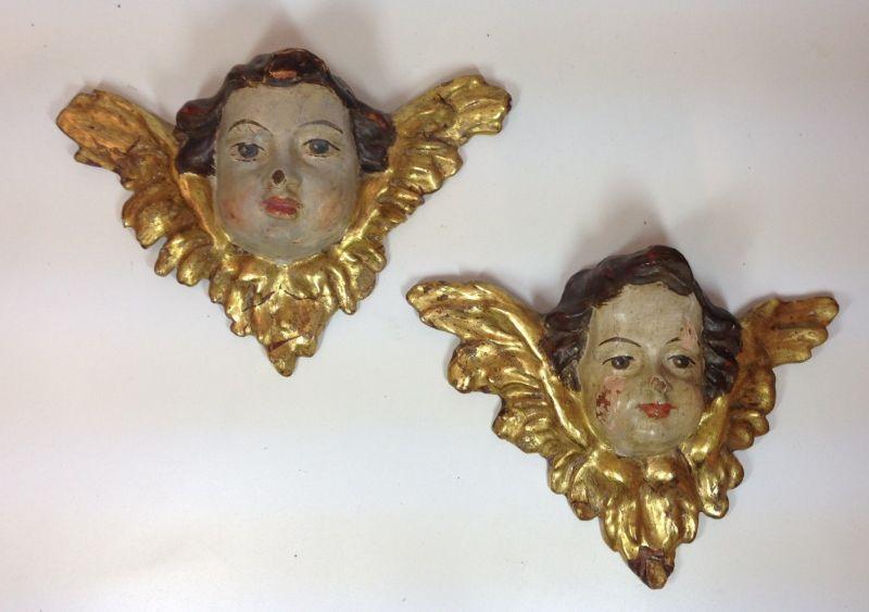 Zwei originale  Renaissance Engel 11965