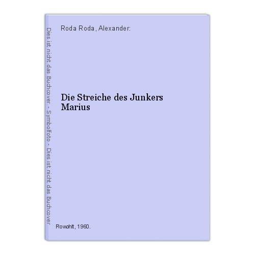 Die Streiche des Junkers Marius Roda Roda, Alexander:
