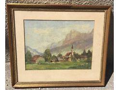 Otto Karl Hoffmann Öl / Platte gerahmt sign. 46x40 16038