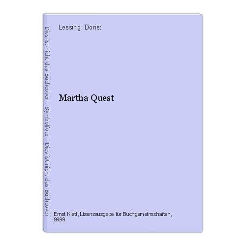 Martha Quest Lessing, Doris:
