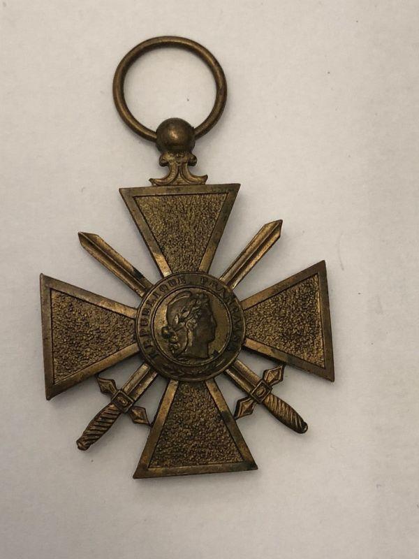 Frankreich Kriegsverdienstkreuz 1914-1918 21112