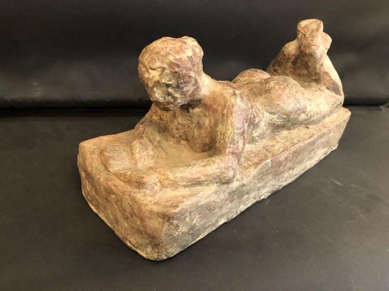 Skulptur Akt Liegende Frau Bildhauer 20114