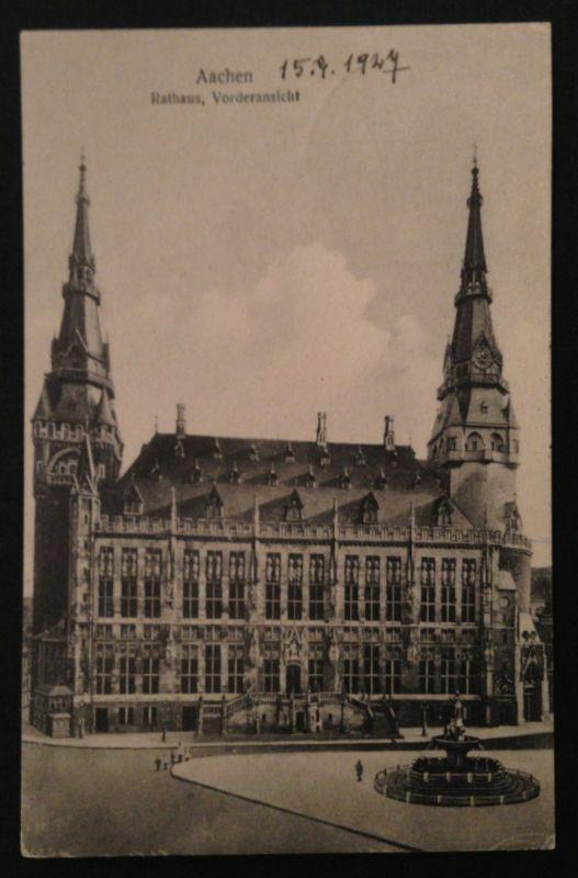 AAchen Rathaus Vorderansicht  10674