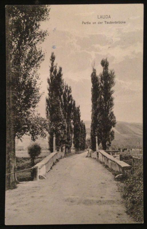 Lauda Partie an der Tauberbrücke 10665