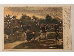 Soldaten Uniformen Durch dick und dünn Grunertshofen 1905 26127
