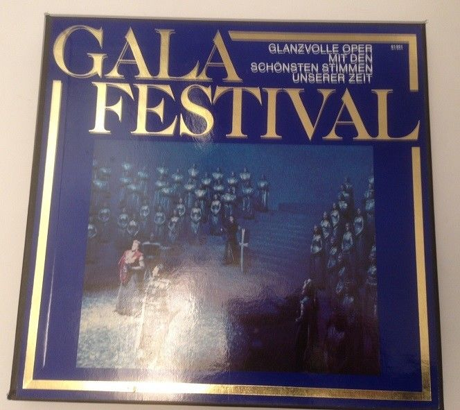 Gala Festival Glanzvolle Oper mit den schönsten Stimmen unserer Zeit 6 x LP Box