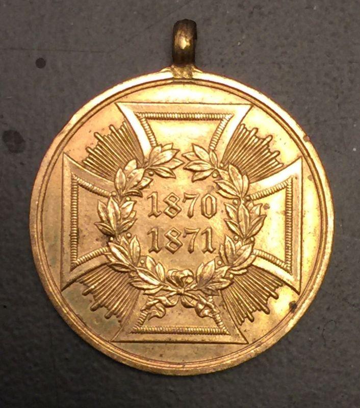 Kriegsdenkmünze für Kämpfer 1870/71 19100