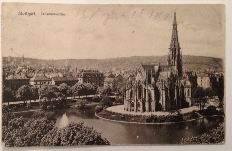 Stuttgart  Stempel Verein zur Erhaltung des deutschtums in Ungarn 11570