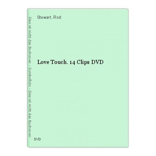 Love Touch. 14 Clips DVD Stewart, Rod: