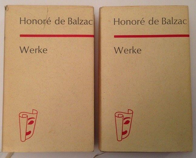 Werke Band I u. II Balzac, Honoré de: