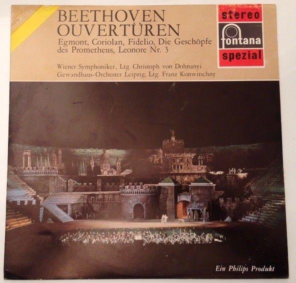 Beethoven Overtüren Wiener Symphoniker Christoph von Dohnanyi Beethoven: