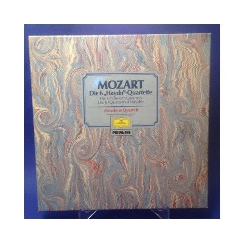 Mozart Die 6 Haydn Quartette Amadeus Quartett