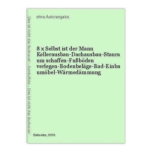8 x Selbst ist der Mann Kellerausbau-Dachausbau-Stauraum schaffen-Fußböden verle