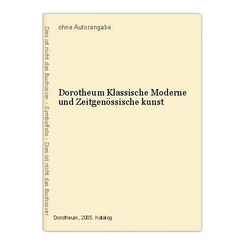 Dorotheum Klassische Moderne und Zeitgenössische kunst