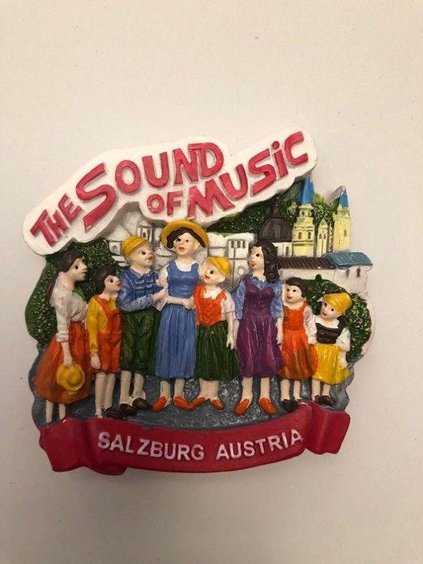 Sound of Music Magnet Salzburg Trapp Familie Austria