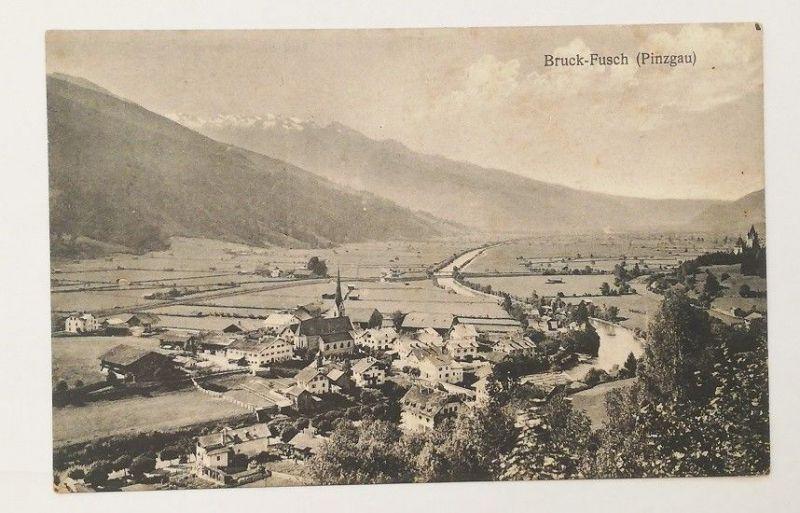 Ansichtskarte: Bruck-Fusch (Pinzgau)