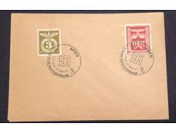 Deutsches Reich Sonderstempel 10 Jahre Machtübernahme 1943 Wien