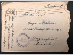 Feldpost Truppendienststelle Nr. 19930 Klagenfurt 17 x 11,5 cm 20517