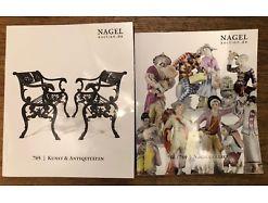 2 x Nagel Auktionskatalog vom 10. Okt. 2018
