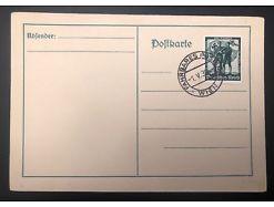 Postablage Deutsches Reich Fahrbares Postamt Wien 1939 25163