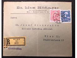 Postablage Reco Wien 1911 Hof und Gerichts Advocat 25332