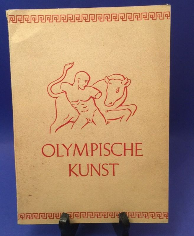 Olympische Kunst Hamann, Richard: