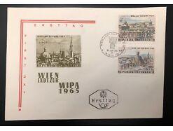 Ersttag WIPA Wien 1964 25395