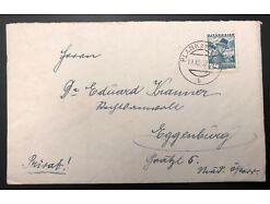 Postablage Plank am Kamp nach Eggenburg 1937 Franz Schubert 25557