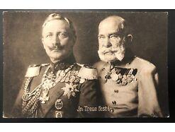 In Treue Fest Kaiser Wilhelm Kaiser Franz Josef Orden Abzeichen 25592