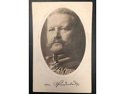 Hindenburg Feldpost 1915 25596