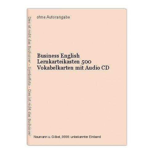 Business English Lernkarteikasten 500 Vokabelkarten mit Audio CD