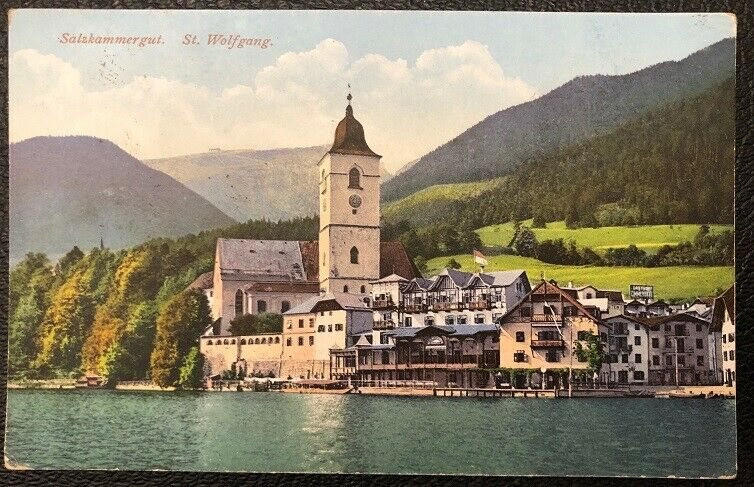 St. Wolfgang um 1925 Salzkammergut  26090