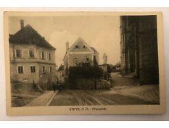 Steyr Pfarrplatz um 1917 26026