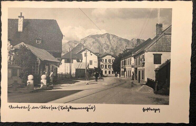 Unterrach am Attersee Salzkammergut um 1940   26083