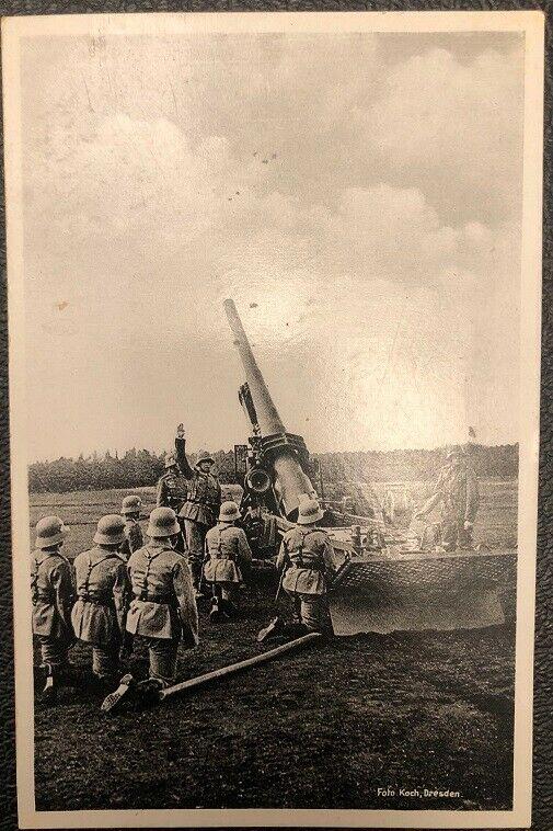 Schwere Artillerie Sonderstempel Wehrmacht   26081
