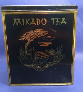 Mikado Tee Blechdose 26 x 23 x 16 cm 14482