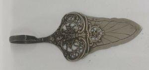 Antiker Silber Tortenheber Reichspunze Deutschland 800 er 26095