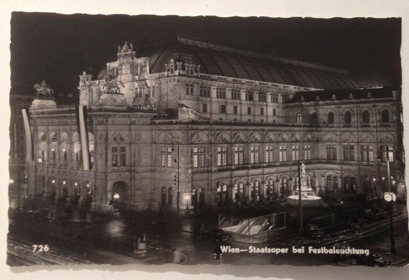 Wien Staatsoper Festbeleuchtung   11510