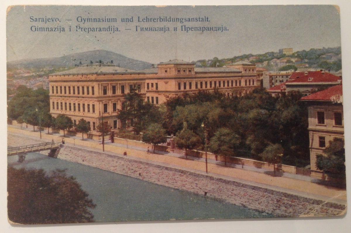 Sarajevo Gymnasium und Lehrerbildungsanstalt Gimnazija i Preparandija      12033