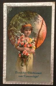Namenstag Mädchen Blumen   10949